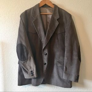 Vintage Western Corduroy Jacket W/ Elbow Patches